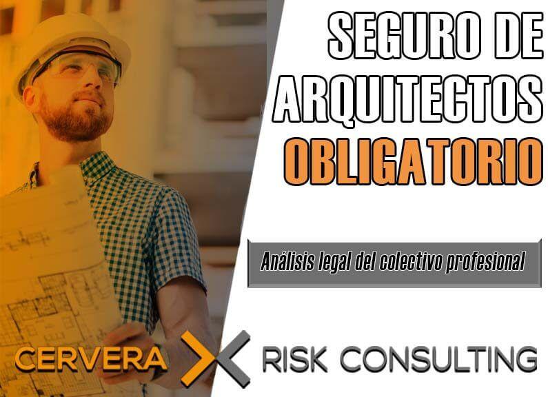 Seguro de arquitectos obligatorio → Análisis legal del colectivo profesional.